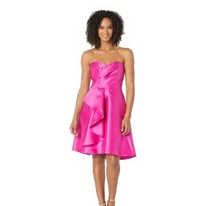 Adrianna Papell Strapless Swtheart Cocktail Dress
